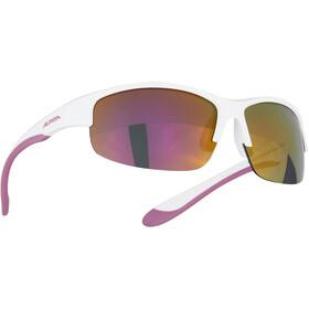 Alpina Flexxy HR Lunettes Adolescents, blanc/violet
